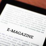 e magazine pour tablettes et smartphones