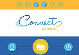 Logotype Animation d'affichage pour Hager