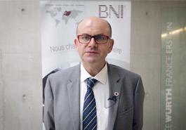 Logotype Patrick METZGER | Directeur du Groupe BNI Cristal Erstein