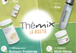 Logotype Thémix, la recette
